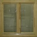 fa ablak középen felnyíló bukó